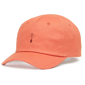 tentree Peak Cap burnt sienna orange